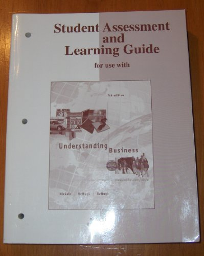 Understanding Business (Student Assessment and Learning Guide)