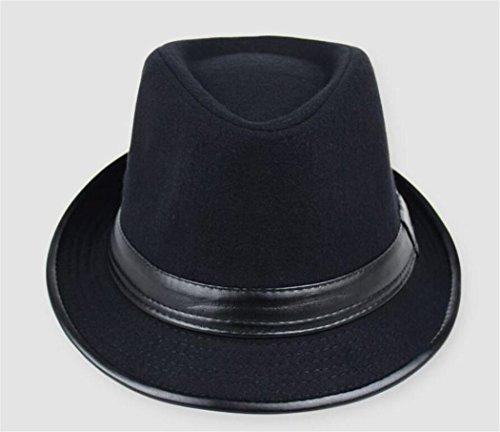 Sombrero para negro Hip jazz del del las la de primavera mujeres Hop de del sombrero otoño sombrero Sombrero gorra de verano hombre sombrero de deportes moda del la escuela la de británico de los Txqa8
