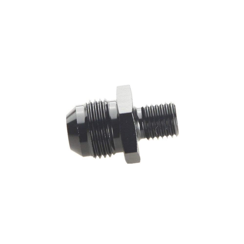 mm 6AN AN-6 To M12 x 1.5 Metric Straight Flare Male Fitting Adapter Blue