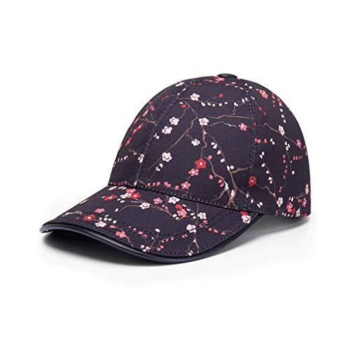 SLH メンズプラムブロッサム野球帽サマーラバーズアウトドアレジャーサンハット