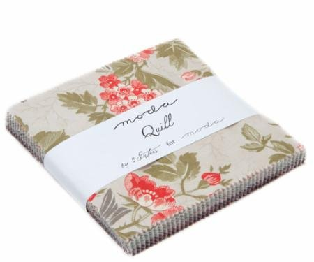 Moda 3 Sisters Quill Quilt Fabric Charm Pack 42 Precut 5