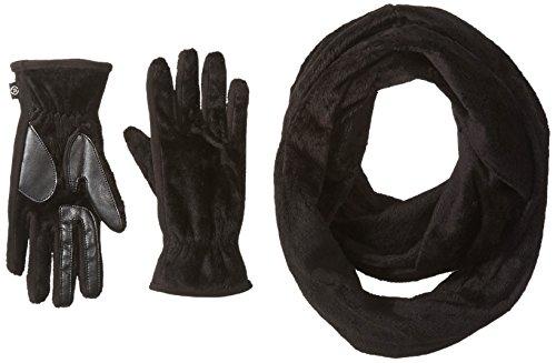 アナロジー失態Isotonerレディーステディインフィニティスカーフとスマートタッチグローブ手袋ギフトセット