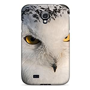 New Arrival Galaxy S4 Case White On Black Owl Case Cover