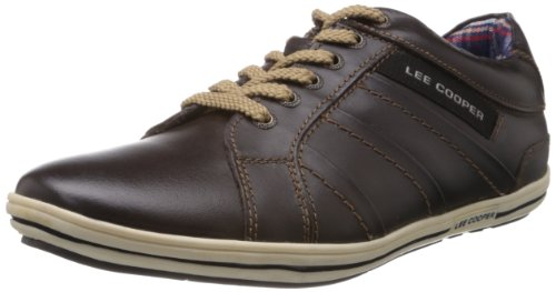 faafdd3f34f5 Lee Cooper Men s Leather Sneakers  Buy Online at Low Prices in India -  Amazon.in