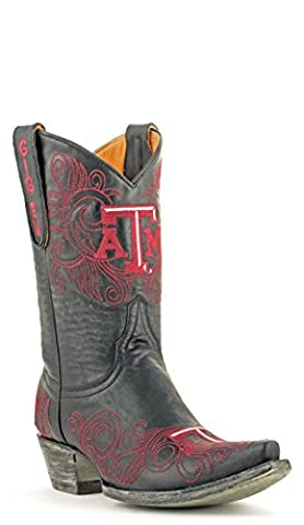NCAA Texas A&M Aggies Women's 10-Inch Gameday Boots, Black, 6.5 B (M) US (University Of Texas Boots)