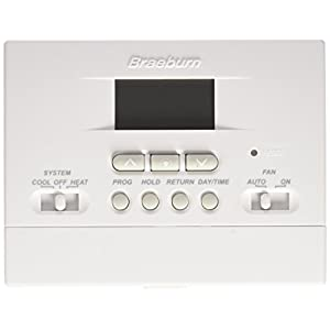 BRAEBURN 2000NC Thermostat, Value 5-2 Day Programmable, 1H/1C