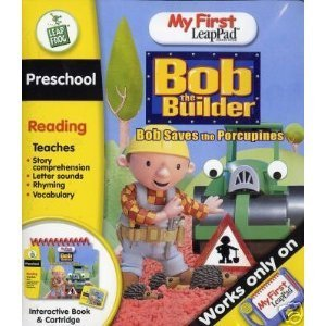 Leap Frog My First Leap Pad: Bob the Builder Saves the Hedgehogs (Leappad First My Cartridges)