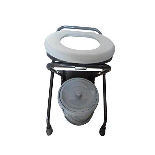 JIN Simple Toilet Seat Pipe Spray Foldable To Move Elderly Pregnant Women Use Toilet Toilet Seat by OPKL