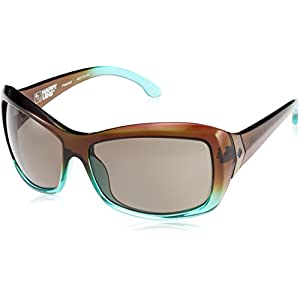Spy Optic Farrah Flat Sunglasses,Mint Chip Fade/Happy Bronze Polar,62 mm