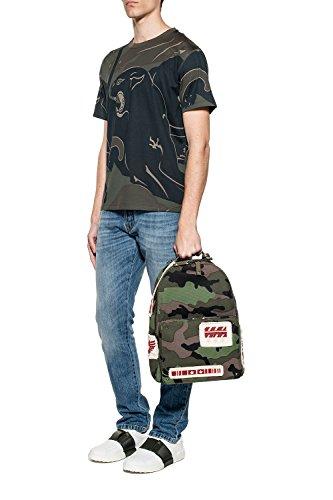 Valentino Hombre MV0MG08F4B8FT0 Multicolor Algodon T-Shirt
