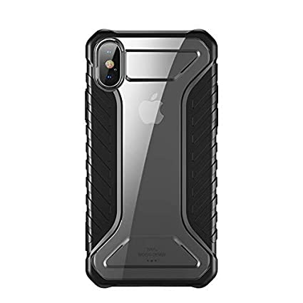 new styles 5ae02 edac8 Apple iPhone Xs Max Case, Baseus Race Case Shockproof: Amazon.in ...