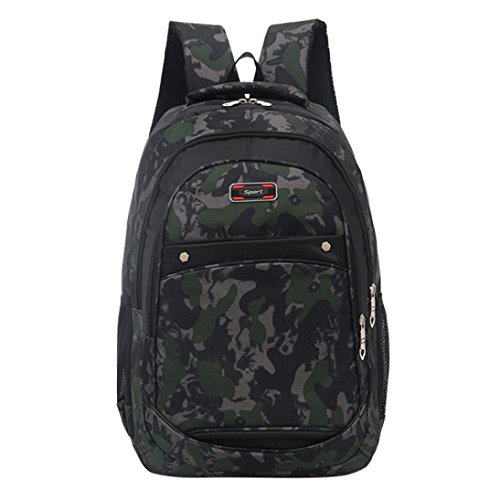 Backpack Students Teenage EUzeo School Bags Backpack Printing Girls Camouflage Boys Camouflage gXwwP8q