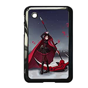 Generic Quilted Back Phone Case For Girly Design With Rwby Ruby Rose For Samsung Galaxy Tab P3100 Choose Design 2