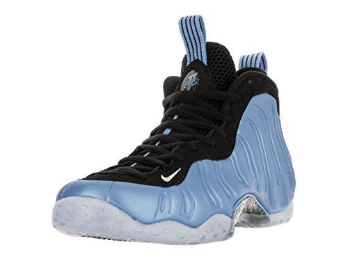 Herren Foamposite Blau Weiß Air Basketballschuhe Weiß Schwarz One Schwarz Blau Universität Nike F7WZSqw7