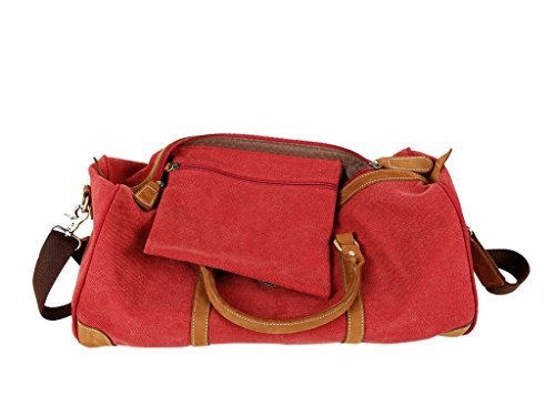 SALVADOR BACHILLER Weekend Bag - Harper 144 - Blu Vino