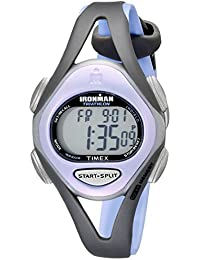 Timex Women's T5E511 Ironman Sleek 50 Mid-Size Purple/Gray Resin Strap Watch