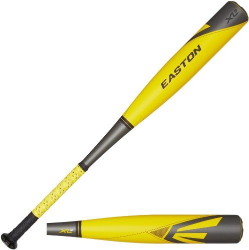 Easton SL14X35 XL3 Baseball Bat, Yellow/Grey, 30-Inch/25-Ounce