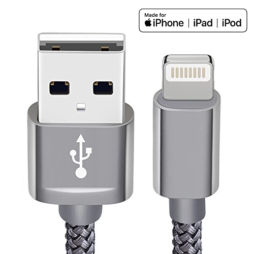 Snowkids Lightning Cable, Apple MFi Certified iPhone Charger