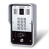 PLANET 720p SIP Multi-unit Apartment Vandalproof Door Phone with RFID and PoE / HDP-5260PT /