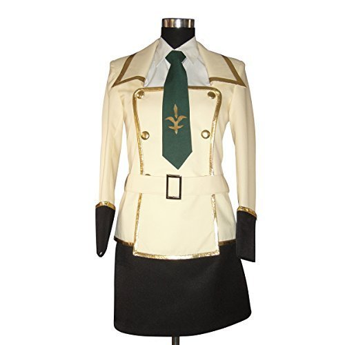 Code Geass Lelouch Cosplay Costumes (Code Geass: Lelouch of the Rebellion-Female Uniform Japanese cosplay costumes)