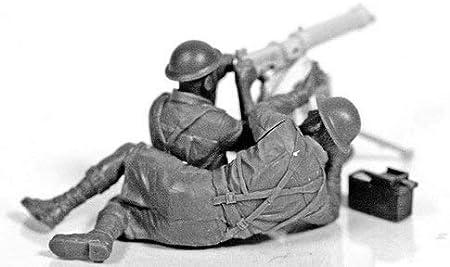 Master Box 1//35 Vickers Machine Gun Team Afrique du Nord # 3597