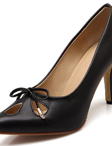 GGX/Damen Schuhe Stiletto Heel Spitz Zulaufender Zehenbereich Schleife Pumpe mehr Farbe erhältlich green-us6 / eu36 / uk4 / cn36
