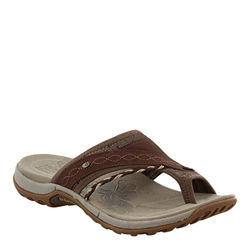 Merrell Women's Hollyleaf Sandal,Bracken,9 M US (Sole Sandals Merrell Rubber)