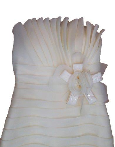 Damen Kleid elfenbeinfarben Fashion Alivila Y a40qH1