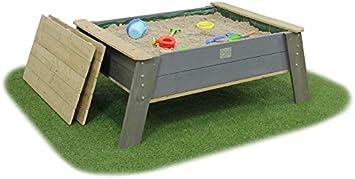 Exit aksent Arena mesa XL a pies con tapa/Material: nordisches Madera de abeto/Tamaño: 138 x 94 x 50 cm/Peso: 30 kg/A Partir de 3 años: Amazon.es: Juguetes y juegos