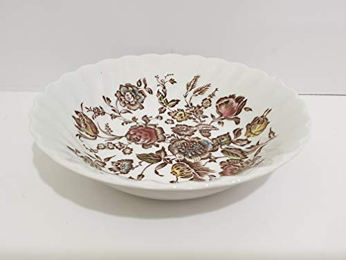 Johnson Brothers Staffordshire Bouquet Coupe Cereal Bowl - Set of 4