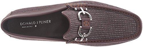 Donald J Pliner Heren Dacio M3 Slip-on Loafer Bordeaux Mesh