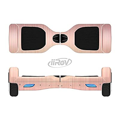 Design Skinz The Rose Gold Brushed Surface Full-Body Wrap Skin Kit for The iiRov HoverBoards and Other Scooter (Hoverboard NOT Included) : Sports & Outdoors
