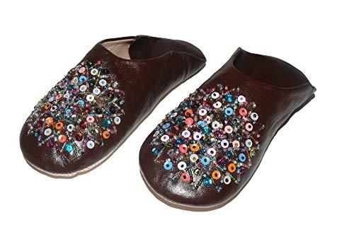 Zapatillas Babouche Marruecos mujeres De Orientales Zapatos OZwBx5qPEc