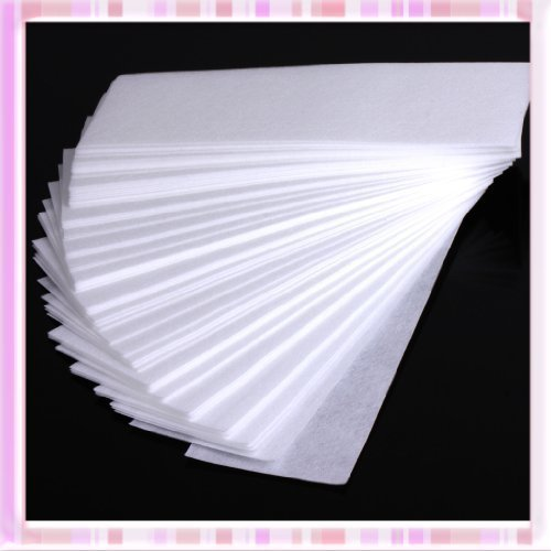 100 Pcs Professional Facial & Body Hair Removal Wax Strips Paper Depilatory Nonwoven Epilator B0221 Body Care / Beauty Care / Bodycare / BeautyCare by Beauty4U