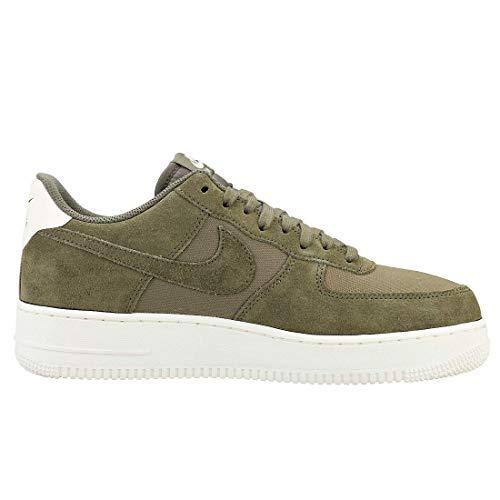 oliva Force medio medio 200 uomo sportive Nike scarpe '07 scamosciate 1 oliva Scarpe Air multicolore vela da EwT7Pxq1A