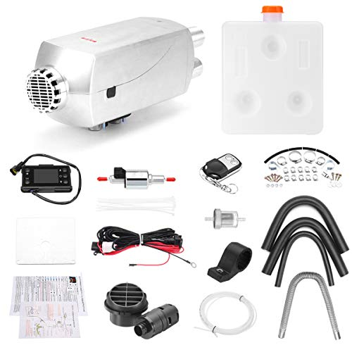 12V 5KW Diesel Air Heater Kit Diesel Heater Air Parking Heater: Amazon.co.uk: DIY & Tools