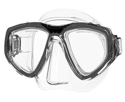 Seac Máscara ONE S/BL - Máscara de buceo, color negro, talla S