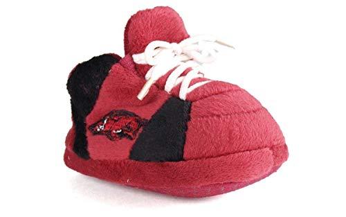 - ARK03PR - Arkansas Razorbacks NCAA Happy Feet Baby Slippers