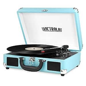 Innovative Technology VSC-550BT Victrola 3-Speed Vintage ...