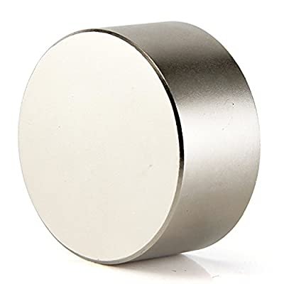 DIYMAG 40x20mm Super Strong Neodymium Disc Magnet, Permanent Magnet Disc, The World