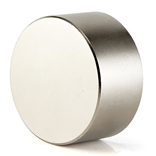 DIYMAG 40x20mm Super Strong Neodymium Disc Magnet, Permanent Magnet Disc, The World's Strongest & Most Powerful Rare Earth Magnets - One Piece