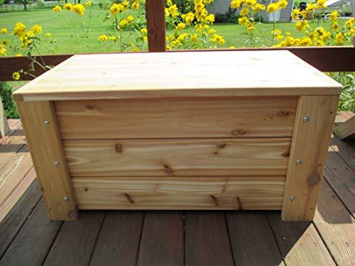 Premium Quality Indoors/Outdoors Cedar Storage Bench By Infinite Cedar  (Image #5)