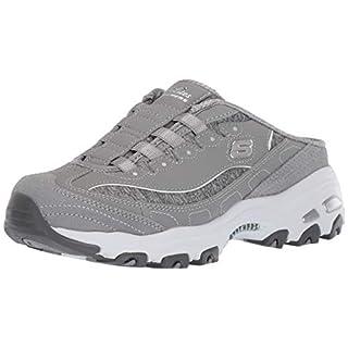 Skechers Sport Women's Resilient Fashion Sneaker, Gray/White, 5 M US