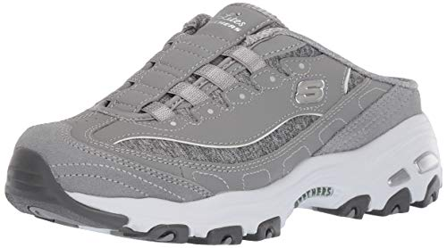 Skechers Sport Women's Resilient Fashion Sneaker, Gray/White, 7.5 M US