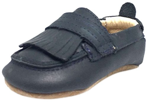 Old Soles Boys' Bambini Domain-K, Distressed Navy, 20 M EU/4 M US (Distressed Leather Kids Shoes)