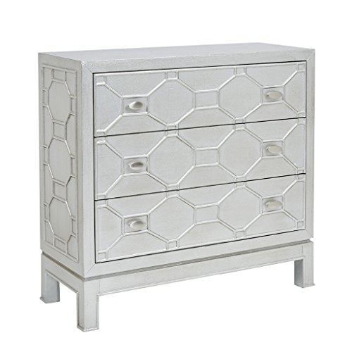 Madison Park Fleming 3 Drawer Chest Metallic See Below ()