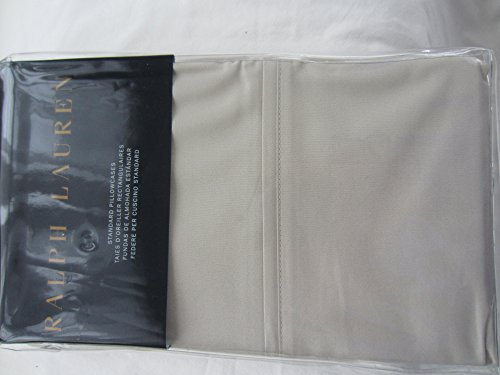 Ralph Lauren Blue Label RL-464 Solid Percale Pillowcases - Pair (Standard, New Linen)