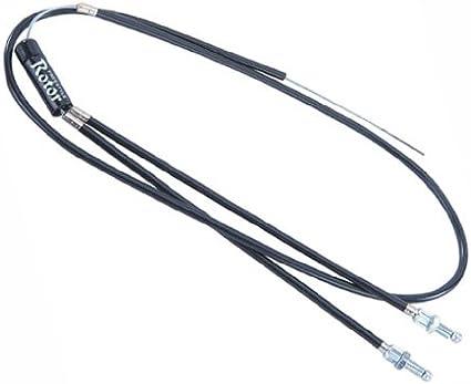Rear Spinner Rotor Set Kit BMX Bike Gyro Brake Cables Front Upper + Lower