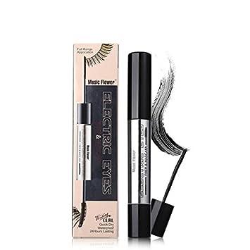 47725a4ad9d Amazon.com : 4D Silk Fiber Lash Mascara Waterproof Long Curling mascara  Makeup Liquid Lash Extension Thick Mascara Eyelashes Korean cosmetics. :  Beauty