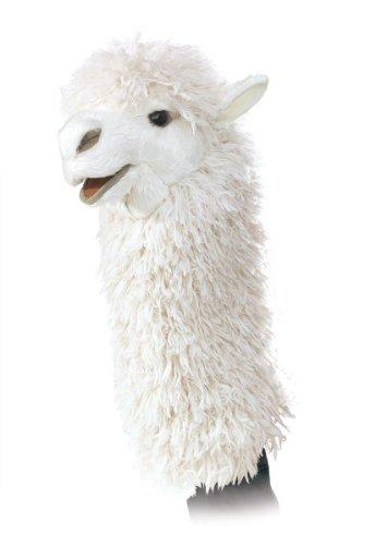 Folkmanis Puppets - 2885 - Marionnette et Théâtre - Alpaca Stage Puppet